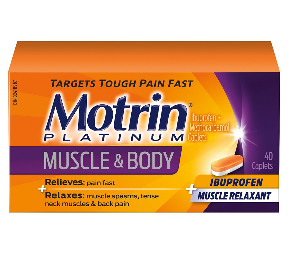 Motrin Platinum Muscle Aches Body Pain Relief Motrin