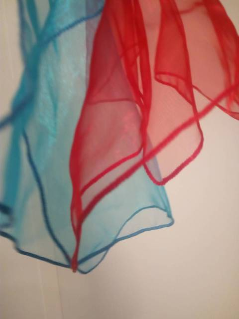 Décor foulard