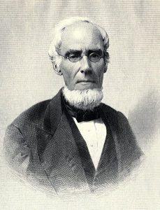 Fig. L. Gail Borden, inventeur du lait concentré sucré. Musée de la carie, Texas.