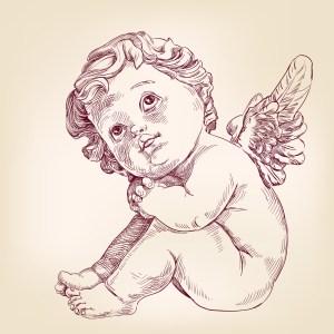 Fig. L. Angelot mignon Saint patron de Cucul la praline.