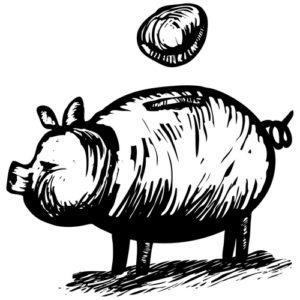 Fig. A. Gros cochon à deux balles.