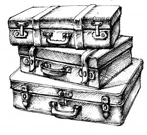 Con comme une valise sans poignée