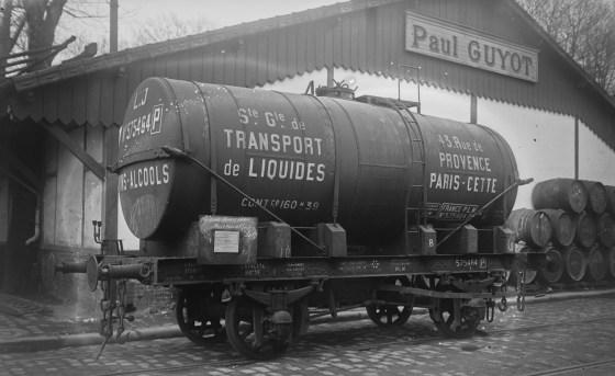 Un wagon-citerne