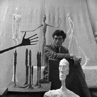 Gordon Parks | Kansas 1912–2006 New York: Ohne Titel [Alberto Giacometti] | Paris, Frankreich, 1951, Silbergelatineabzug The Gordon Parks Foundation | © Bild; Courtesy of The Gordon Parks Foundation © Alberto Giacometti Estate/Bildrecht, Wien 2014