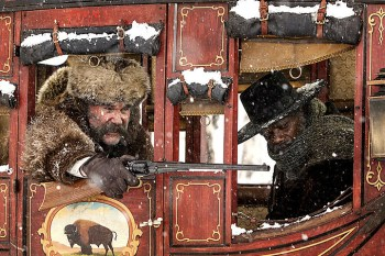 The hateful Eight: Kurt Russell und Samuel L. Jackson Bild: The Weinstein Company