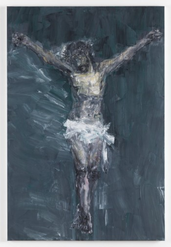 Yan Pei-Ming, Crucifixion, 2015, The Tia Collection. © Yan Pei-Ming, ADAGP, Paris, 2016. Bild: André Morin, Courtesy Galerie Thaddaeus Ropac, Paris/Salzburg.