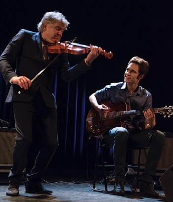 Didier Lockwood Duo. Bild: Jacques Gavard