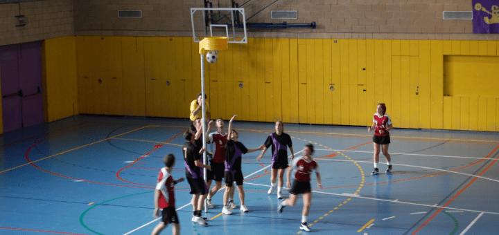 Korfbal a educació física