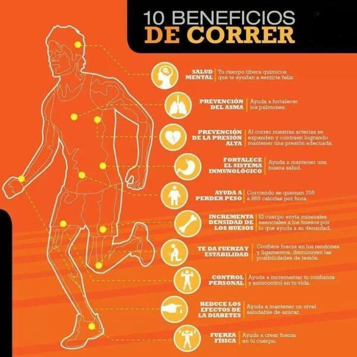 10 beneficis de córrer