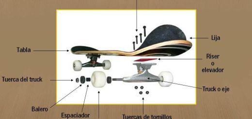 Skates i monopatins