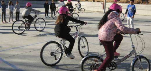 Activitats de ciclisme a l'escola?