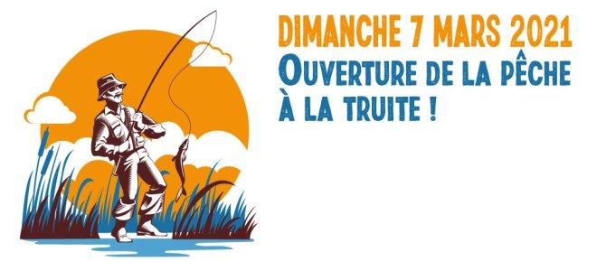 Dimanche 7 mars 2021 ouverture de la pêche