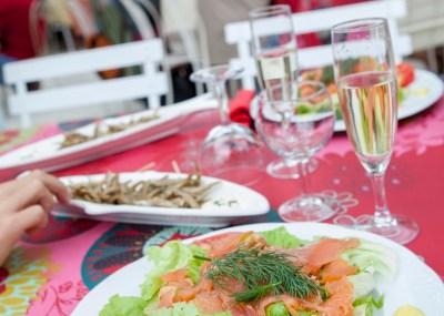 Plat du restaurant Moulin Authier