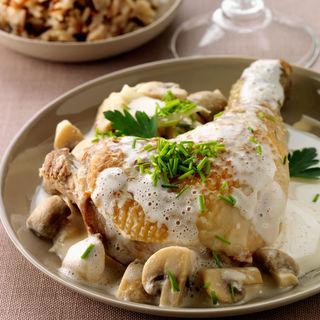1 morceau 3 recettes la cuisse de poulet moulin de serres - Comment cuisiner des cuisses de poulet ...