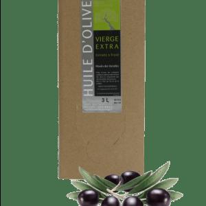 huile d'olive fruité vert de france