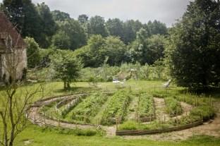 Jardin des petits fruits côté cours