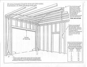 Electrical Outlet Wiring Diagrams Garage | WIRING DIAGRAM