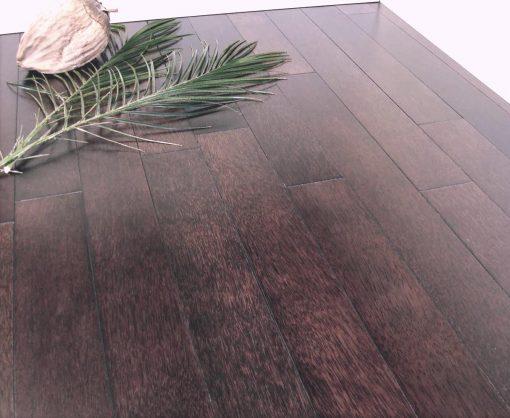 parquet cocotier massif teinte noir 15 x 90 mm
