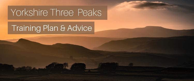 Yorkshire Three Peaks Training Plan & Advice
