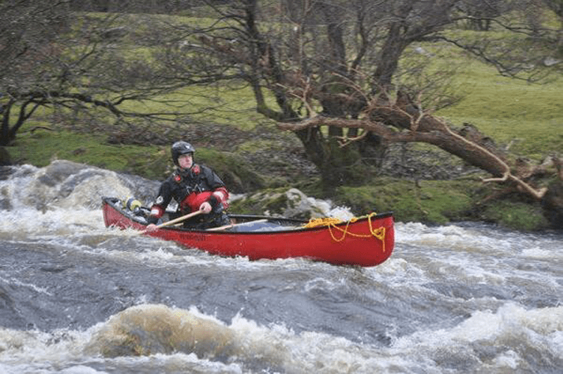 Canoe Leader Assessment Mountain Water Expeditions, Water Based Courses