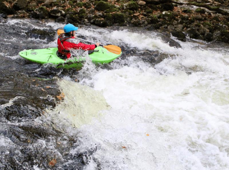 White Water Kayak Leader Training