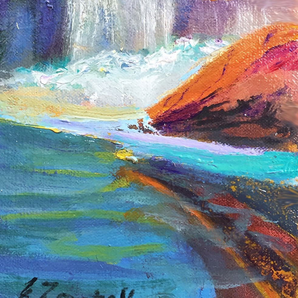 Falling Waters - Sydney Zentall