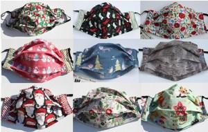 Holiday Masks - Kathryn Pierno