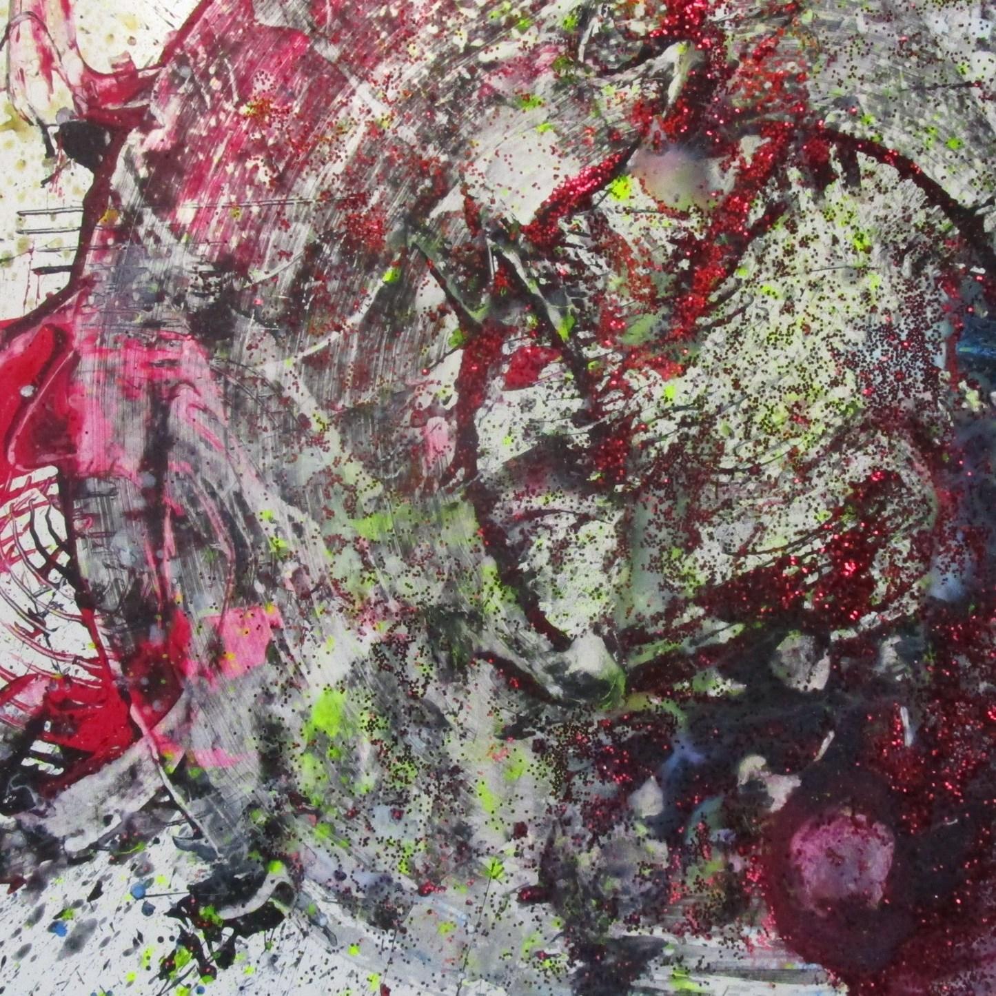Intuitive Heart Painting #2 - Svargo Florian Schuller