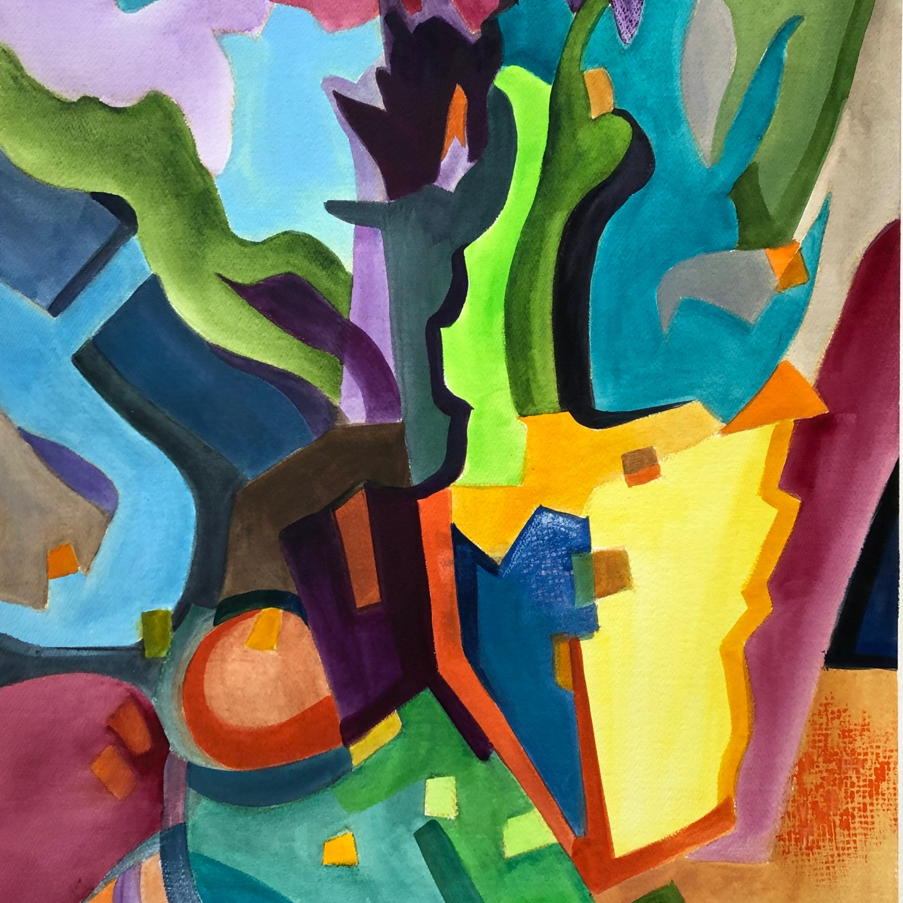 Journey Into Abstraction - Linda Curtis