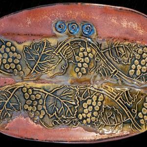 Grape Platter - Linda Levy