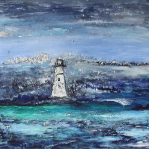 Lighthouse At Sea - William Bryant
