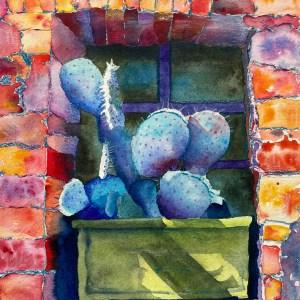 Blue Cactus - Jo-Neal Graves