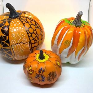 Holiday Pumpkins - Ruth Dailey