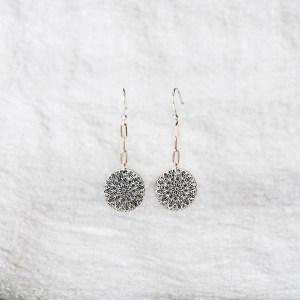 Mandala Dangle Earrings - Rae Rodriguez