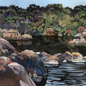 Reflecting Pool - Linda Curtis