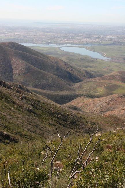 Descending Otay Mountain