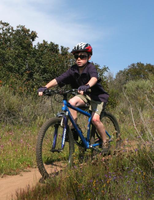 Jake Singletrack Cruising