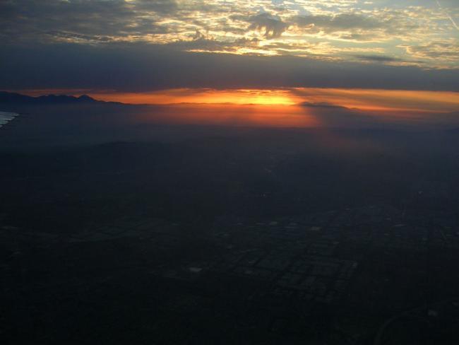 Sunrise in Socal
