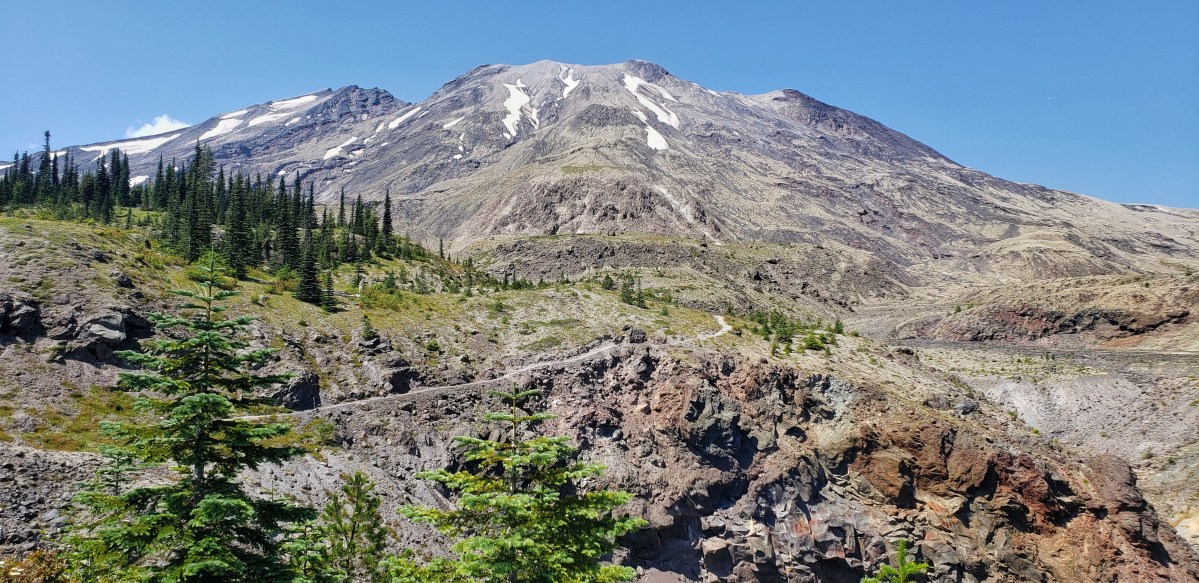 Mt Saint Helens return
