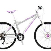 "Momentum Mountain Bike M220 Women's 26"" - 27 Speed Shimano M390 Acera Groupset, Hydroformed Flat Welded 6061 Aluminum Alloy Frame, SR Suntour XCM Hydraulic Lockout 100mm Fork, 26in Wheels with Quick Release Hubs"