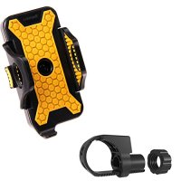 GVDV™ Universal Adjustable Mountain Rotating Bicycle Mount Bike Handlebar Cell Phone Holder Cradle for iPhone 4/4S/5/5S/5C/6 Samsung Galaxy S3 S4 S5 Note 1 2 3 Blackberry Z10, HTC One, MX2 3