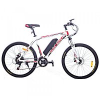 Cyclamatic CX3 Pro Power Plus Alloy Frame eBike White/Red