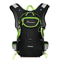 Mountaintop Hydration Pack Running Backpack Perfect for Hiking Cycling Climbing Biking Running Race Vest- with Multiple Storage Compartment