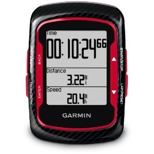 Garmin Edge 500 Bike Computer with Cadence and Premium Heart Rate Monitor (Red)
