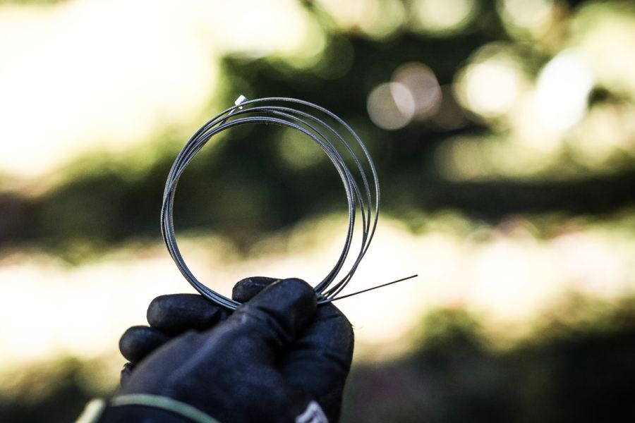 Gear cable in our best mountain bike trailside fixes.