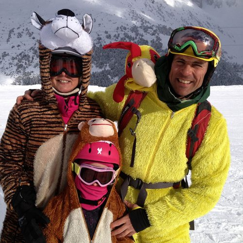 Tim-Sara-Cat-ski-fancy-dress