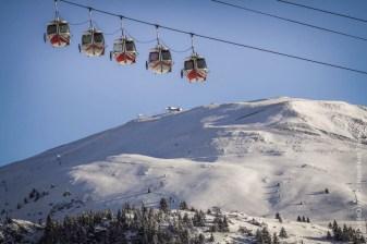 Huez Village Gondolas