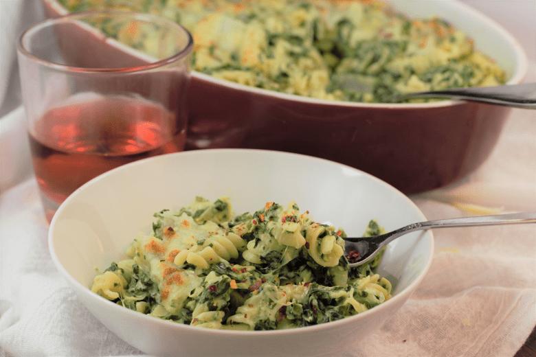 Spinach Artichoke Pasta Bake   Mountain Cravings