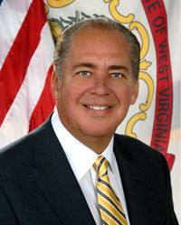 Acting Governor Earl Ray Tomblin