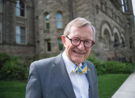 West Virginia University President E. Gordon Gee
